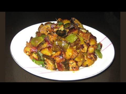 EASY ALOO BAINGAN ki SUKHI SABJI | Recipe for Beginner | Aloo baingan masala recipe in hindi