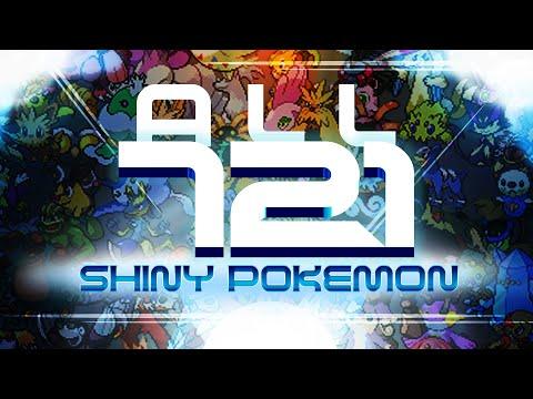 Pokemon X & Y: All 721 Shiny Pokemon! (IN-BATTLE)