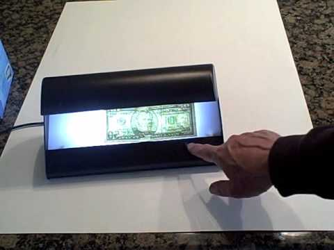 Counterfeit money detector SLD-16 use to prevent fake money