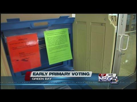 Primary Absentee Voting is Underway in Wisconsin.