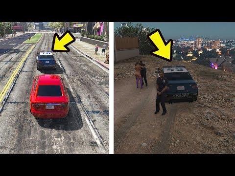 O que acontece se seguir a PM no GTA 5?