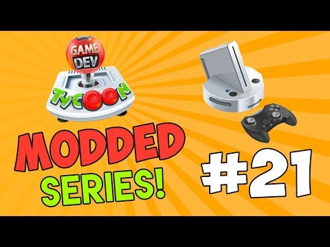 CREATING A NEW CONSOLE - Game Dev Tycoon Modded #21