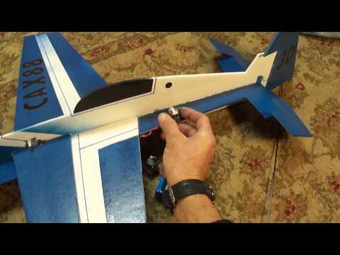 Part # 3 of 3 Profile 3D plane. Cutting and assembling (PDF) plans. foamconceptjets.com