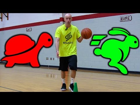 Make Your Basketball Moves SLOWER But SEEM FASTER!
