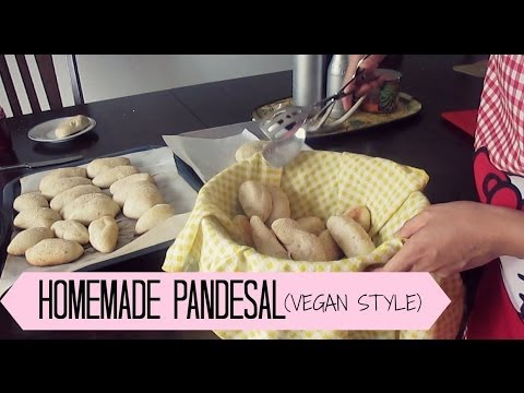 Homemade Pandesal - Vegan Style
