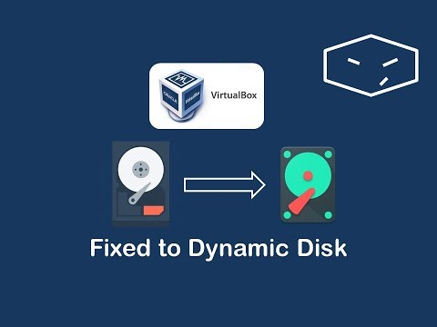 virtualbox convert fixed disk into dynamic disk