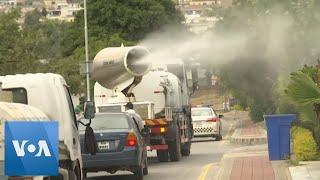 Fumigation in Pakistan as Coronavirus Cases Increase