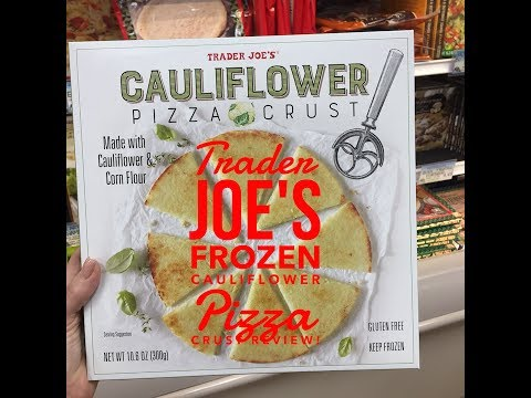 Trader Joes Frozen Cauliflower Pizza Crust Review!