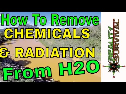 How To Get Chemicals Or Radiation Particles Out Of Your Drinking Water