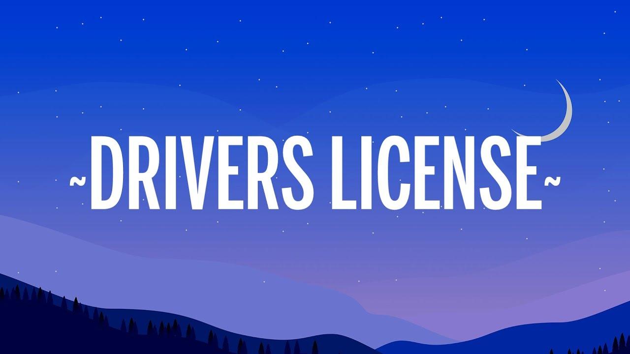 Olivia Rodrigo - drivers license (Letra/)