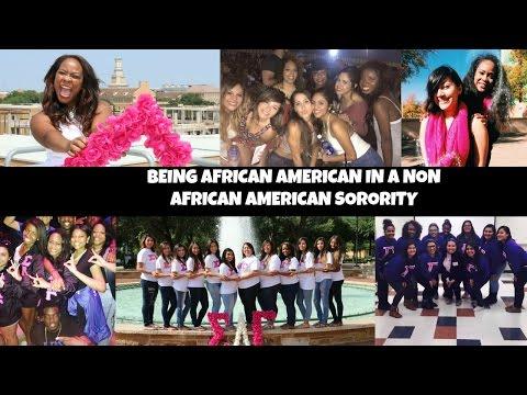 Being African American In A Non African American Sorority || Sorority Experience Sigma Lambda Gamma