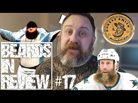 Honest Amish Beard WAX and Joe Thornton's Beard gets ripped out! Whale of a winner Beard of the Week