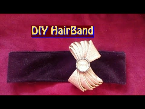 How to make beautiful hair band