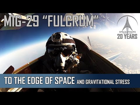 MIG-29: To The Edge Of Space And Gravitational Stress