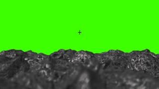 UFO spaceship in green screen free stock footage - PakVim