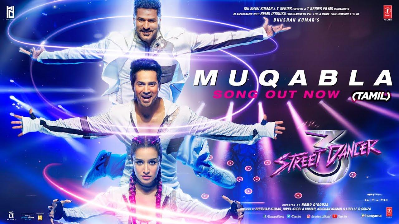 Muqabla-Street Dancer 3D(Tamil)|A. R. Rahman,Prabhudeva,Varun D,Shraddha K,Tanishk B|Yash,Parampara
