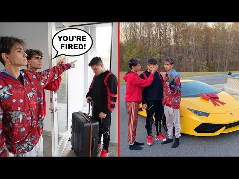Firing Our Camera Man, Then Surprising Him With A Lamborghini