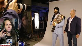 WWE Smackdown 5/2/17 Jinder Mahal with Randys Title