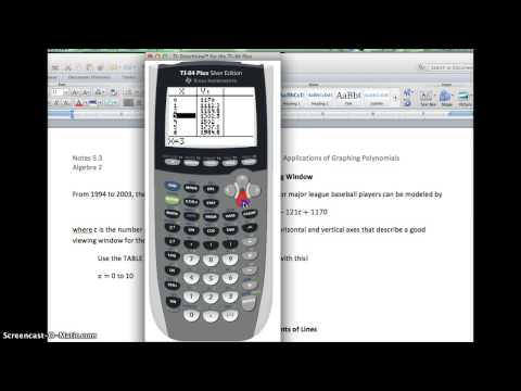 TI-84 Tutorial: Setting a Good Viewing Window for Graphs