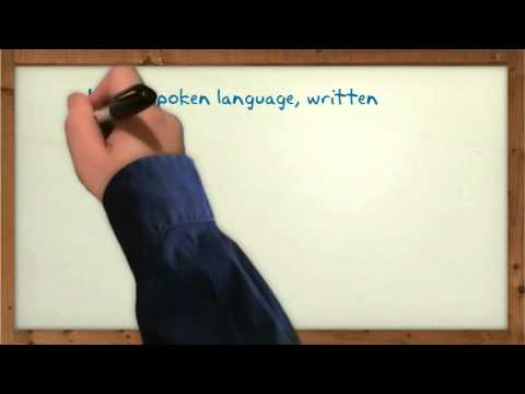 Differences Between Spoken and Written Language