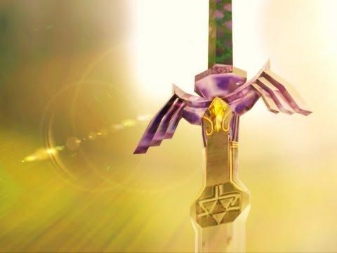 The Master Sword in Real Life - Legend of Zelda