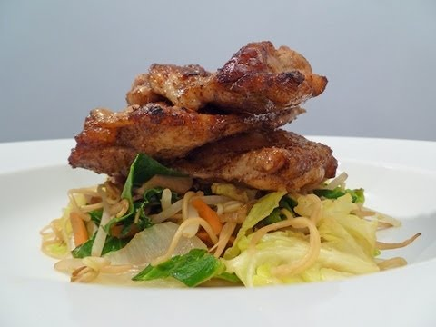 Chinese Chicken Thigh Stir Fry Cook-Along Video Part 1