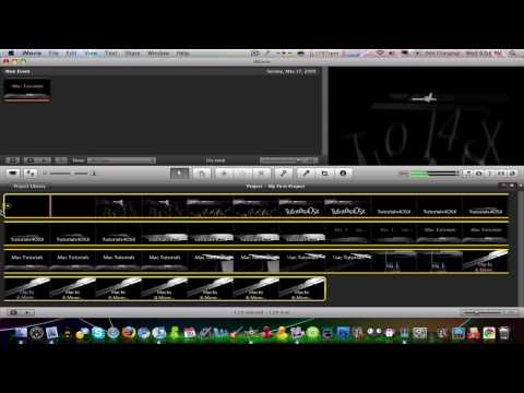 How to Speed Up or Slow Down Movies in iMovie 09'