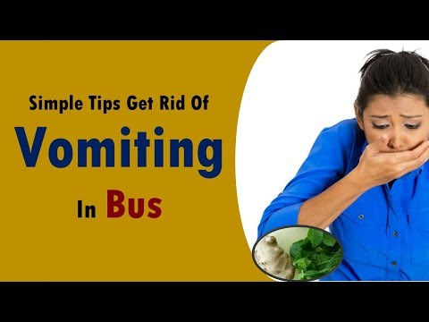 simple tips get rid of vomiting in bus