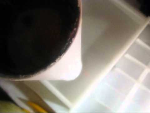 Making Avocado & Plantain & Papaya Soap