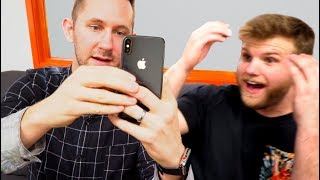 iPhone X Unboxing Reactions from Co-Workers