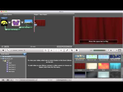 iMovie Backgrounds