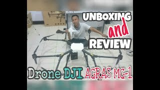Unboxing and Review Drone DJI AGRAS MG1