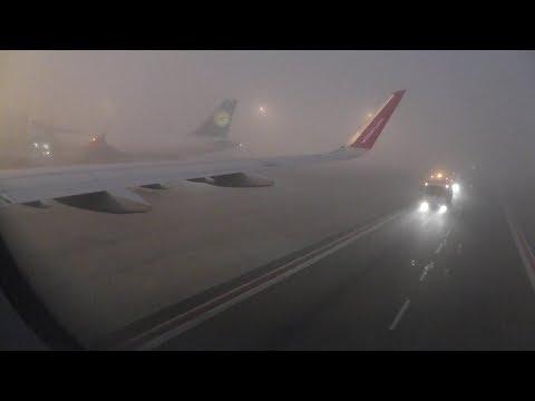 Zero-visibility landing IN DARKNESS at Milan Malpensa.