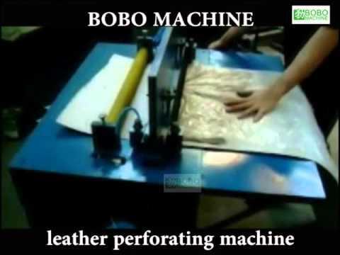 leather perforating machine 1