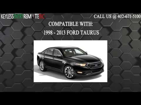 How To Replace A 1999 - 2011 Ford Taurus Key Fob Remote Battery