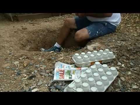Resetting the Compost Pit for winter the Easy Way: Compost Starter Kit