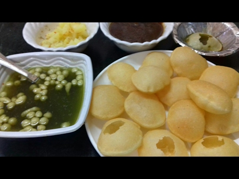 Tasty Suji Ke Golgappa - 2 Methods | Pani Puri Recipe | Chaat Recipe | Puchka | Golgappe Recipe .