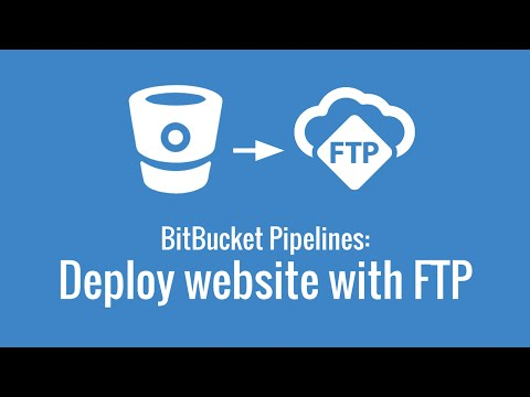 Deploy a website to FTP server (First look at BitBucket Pipelines, part 4)