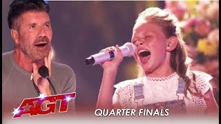 Download Ansley Burns: She's Back As WILDCARD To Prove Simon Cowell Wrong! | America's Got Talent 2019 Video