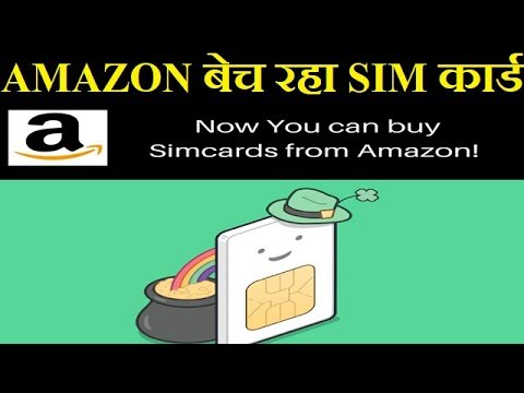 Amazon India Starts Selling SIM Cards of Airtel and Vodafone