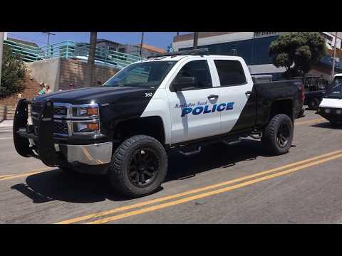 Police Monster Truck 4x4
