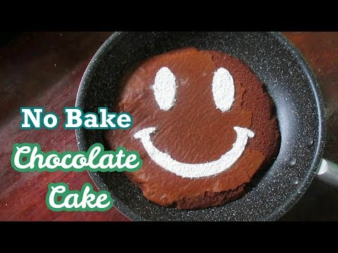 No Bake Chocolate Cake I Baking Without An Oven I  Simple Recipe