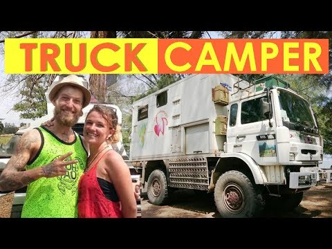 S1 EP 8 Van Tour [ Couple Converts Military Truck into a Campervan ]