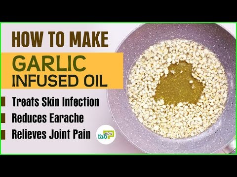 Easy Garlic Infused Olive Oil Recipe