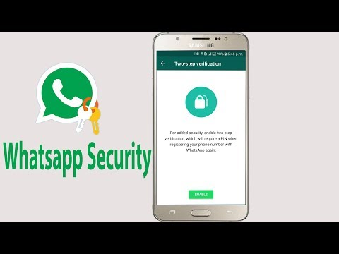 Whatsapp Security- How To Enable And Disable 2 Step Verification On Whatsapp