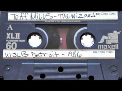 Jeff Mills aka The Wizard @ WJLB Detroit, USA 1986 to 1989