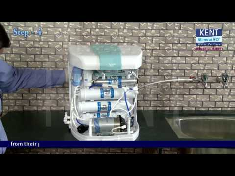 RO+UV+UF+TDS Water purifier: How to Install Guide Kent Pearl | Kent