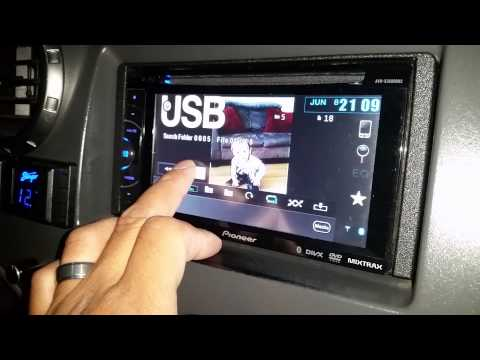 How to add custom wallpaper pioneer double din