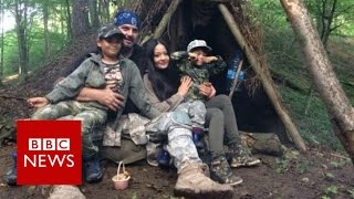 The Polish paramilitaries preparing for war - BBC News