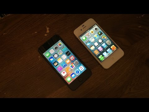 iPhone 4S iOS 6.1.3 vs iPod Touch 5 iOS 9.3.5 Speed Test